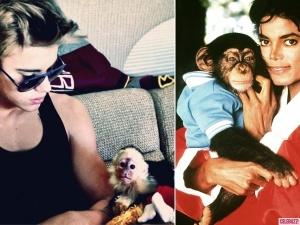 Justin-Bieber-Michael-Jackson-Monkeys-600x450